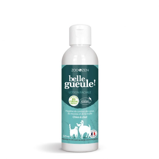 Lotion Faciale - Chien & Chat - BIO Ecocert - 125 ml